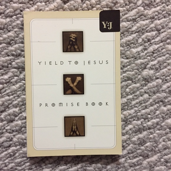 Yield to Jesus- Promise Book
